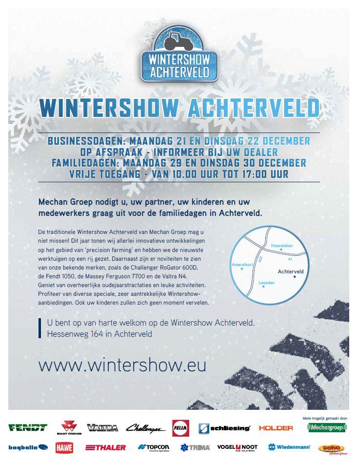 Wintershow Achterveld Fendt 1000